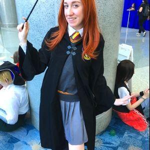 Harry Potter Hogwarts Gryffindor Cloak